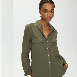 Aritzia Tops - BABATON Utility Button Up